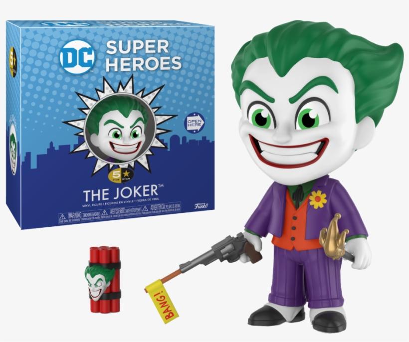 5 Star Figure Dc Joker Classic - Funko 5 Star Dc, transparent png #5410596