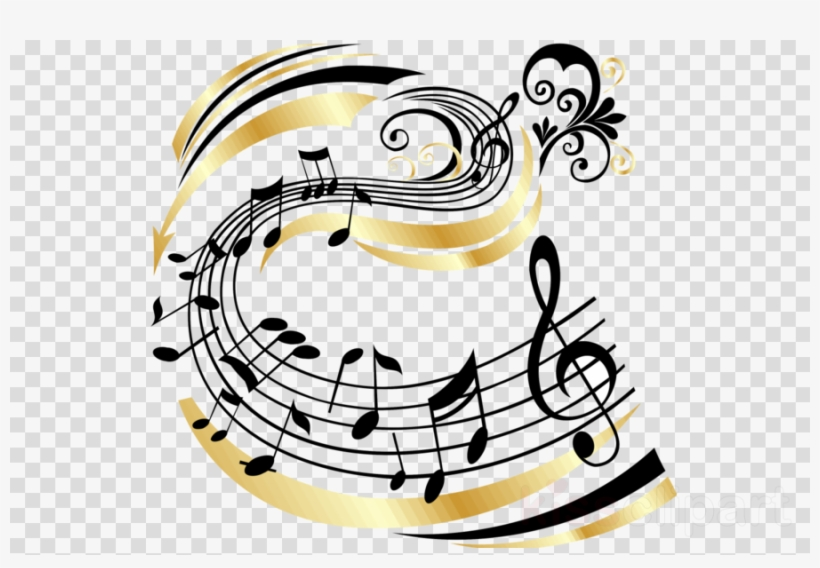 Music Clipart Musical Note Staff - Music, transparent png #5418729