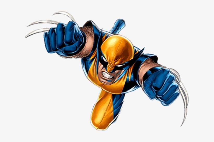Cliparts Man Wolverine - Wolverine Pixel Art Gif, transparent png #5428270