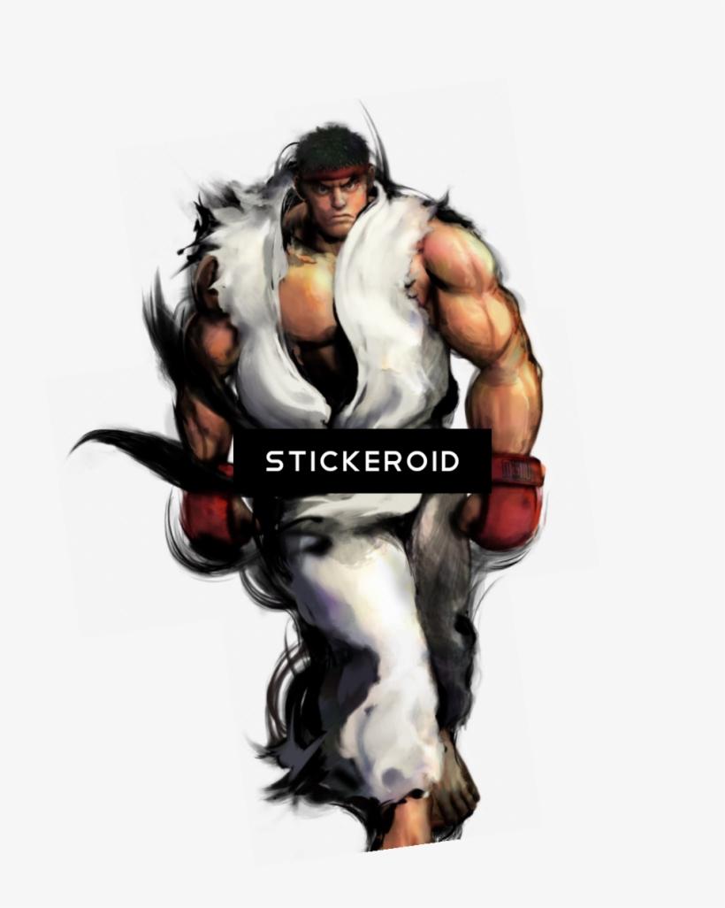Ryu Fighter Street - Street Fighter Gouken Ryu, transparent png #5430991