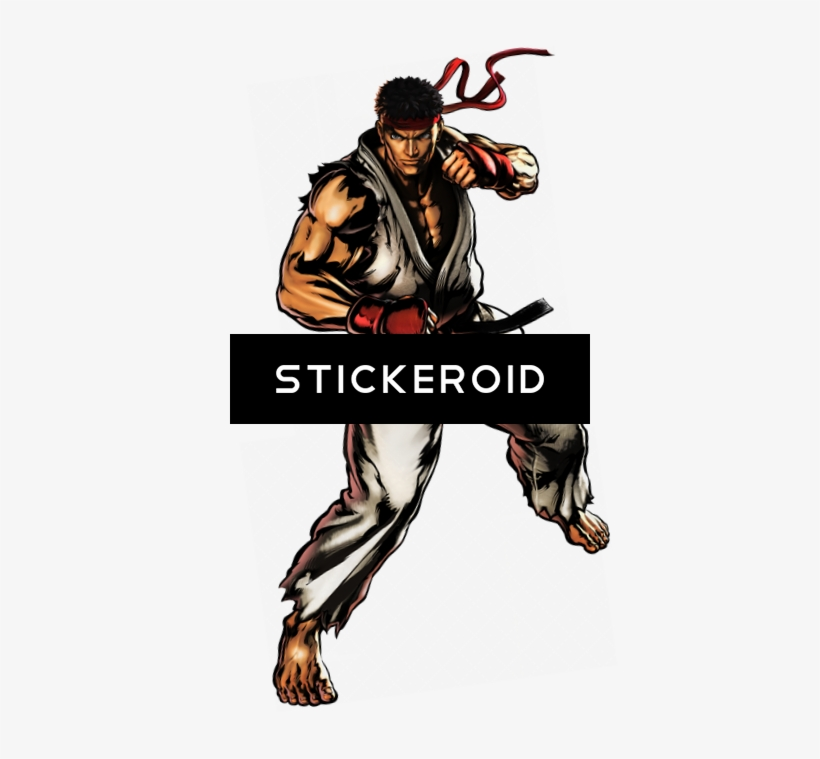 Ryu Fighter Street - Ultimate Marvel Vs Capcom 3, transparent png #5431161