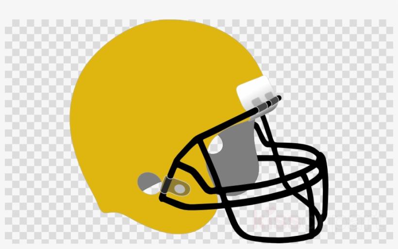 Football Helmet Png Transparent Clipart Nfl Green Bay - American Football Helmet Cartoon, transparent png #5436476