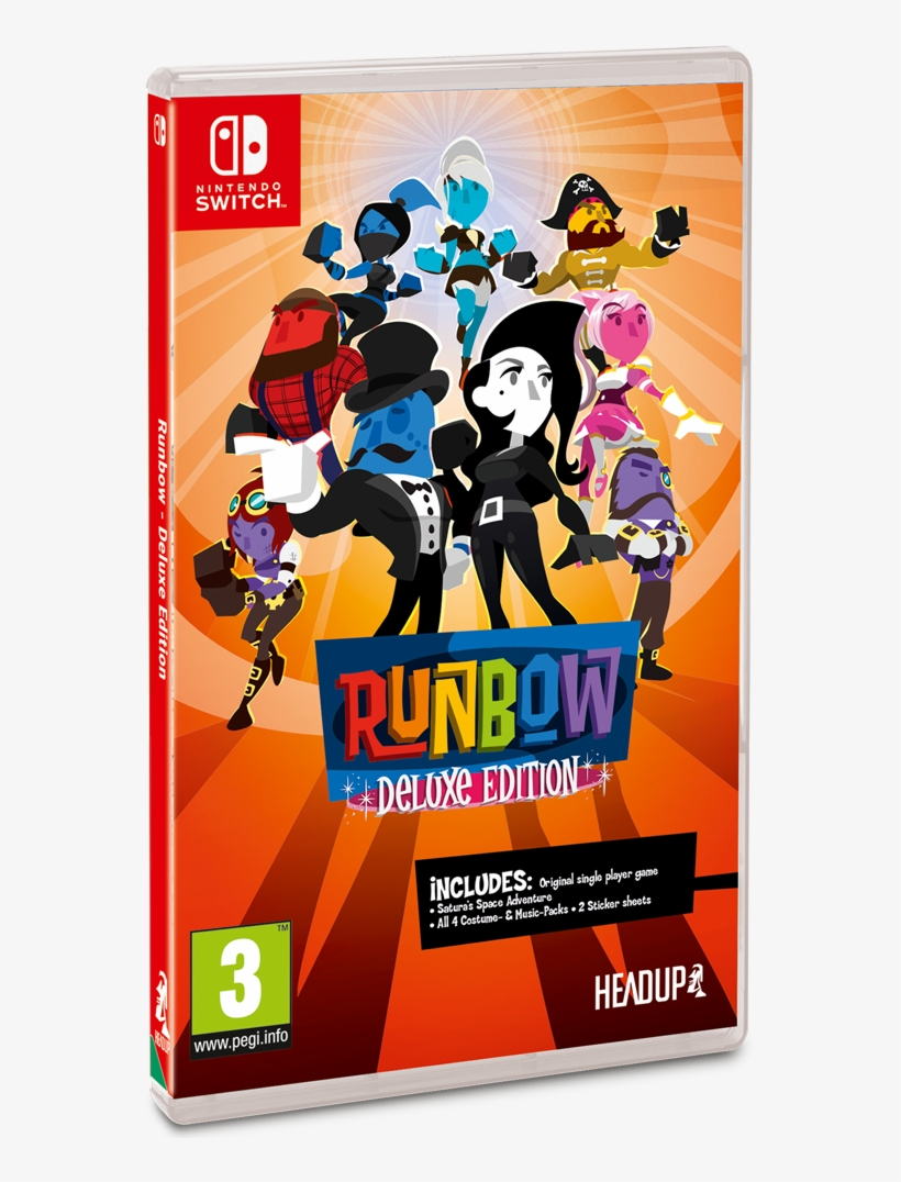 Runbow Deluxe Edition Nintendo Switch - Runbow Deluxe Edition Switch, transparent png #5440850