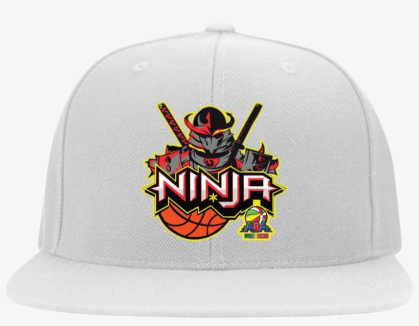 Ninja Head Wear Flat Bill Twill Flexfit Cap - Gildan Mens Short Sleeve T-shirt, transparent png #5447538