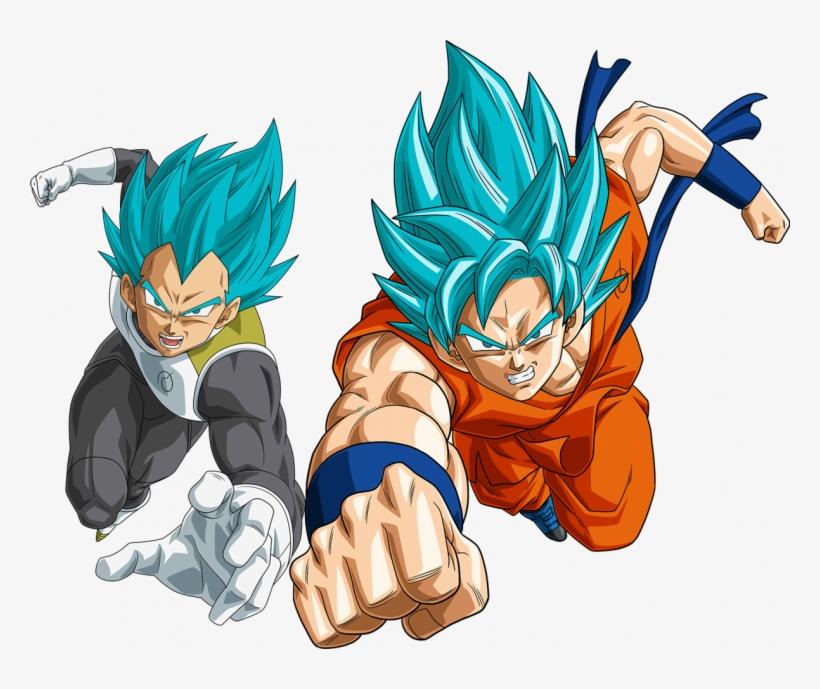 Dragon Ball Super Vegeta Png - Dragon Ball Super Goku Png, transparent png #5452045