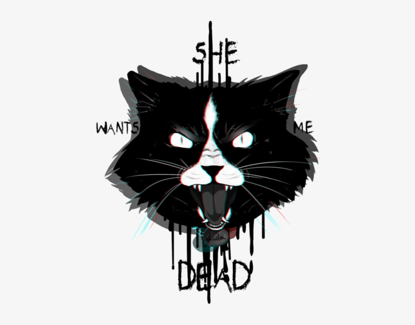 Yay New Cats On My Redbubble Hope You Will Like Them - Lula She Wants Me Dead, transparent png #5457680
