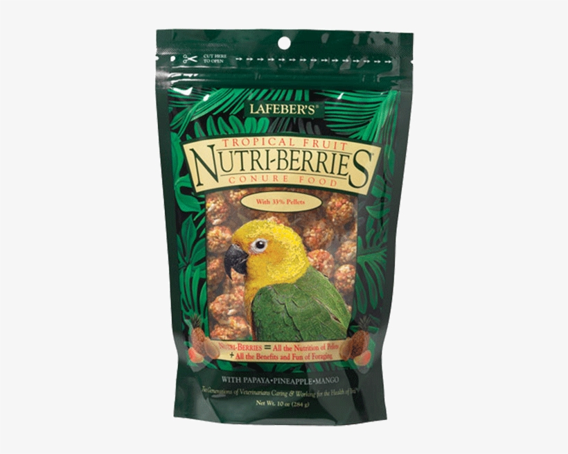 Tropical Fruit Nutri-berries For Conures - Lafeber Company Tropical Fruit Nutri-berries Conure, transparent png #5457910