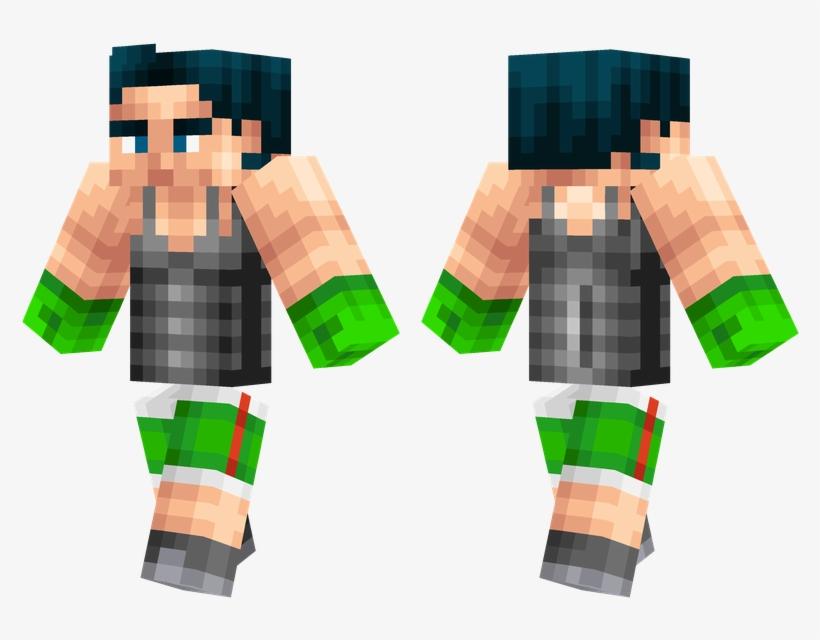 Little Mac - Minecraft Little Mac Skin, transparent png #5466308