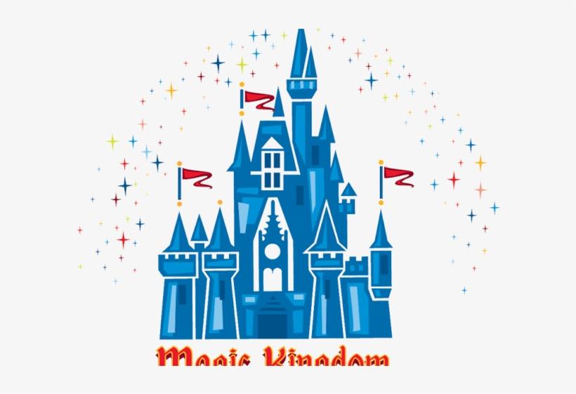 Logos Clipart Walt Disney Logo - Disney Magic Kingdom Logo, transparent png #5471543