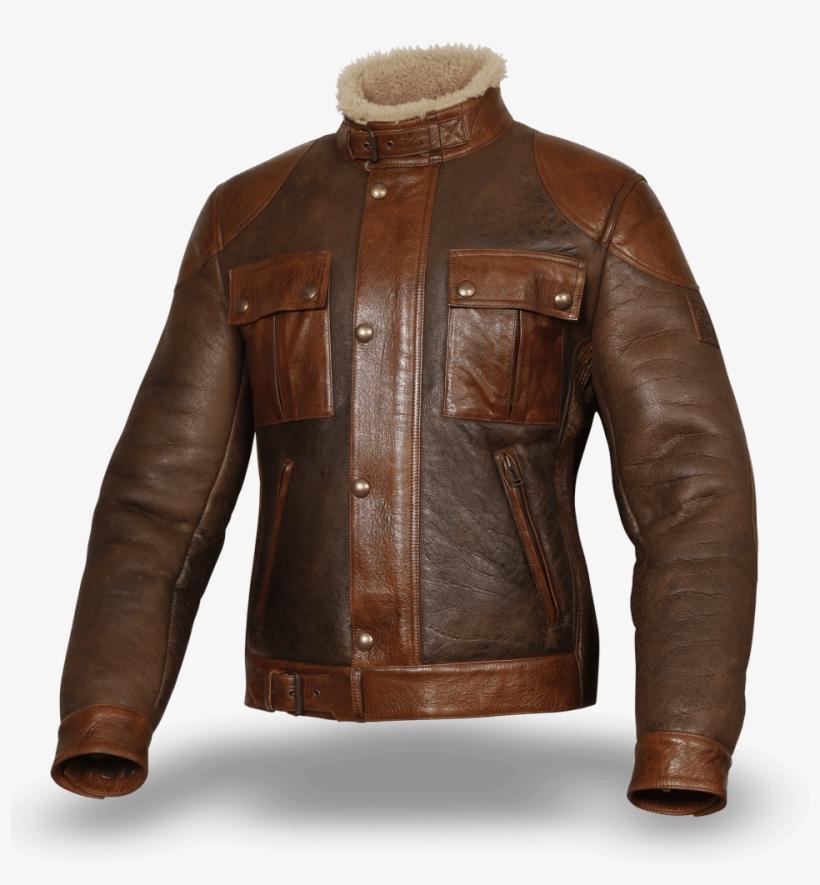 57d3ec4682 Gotlands Fashion - Belstaff Gangster Shearling - Free Transparent ...