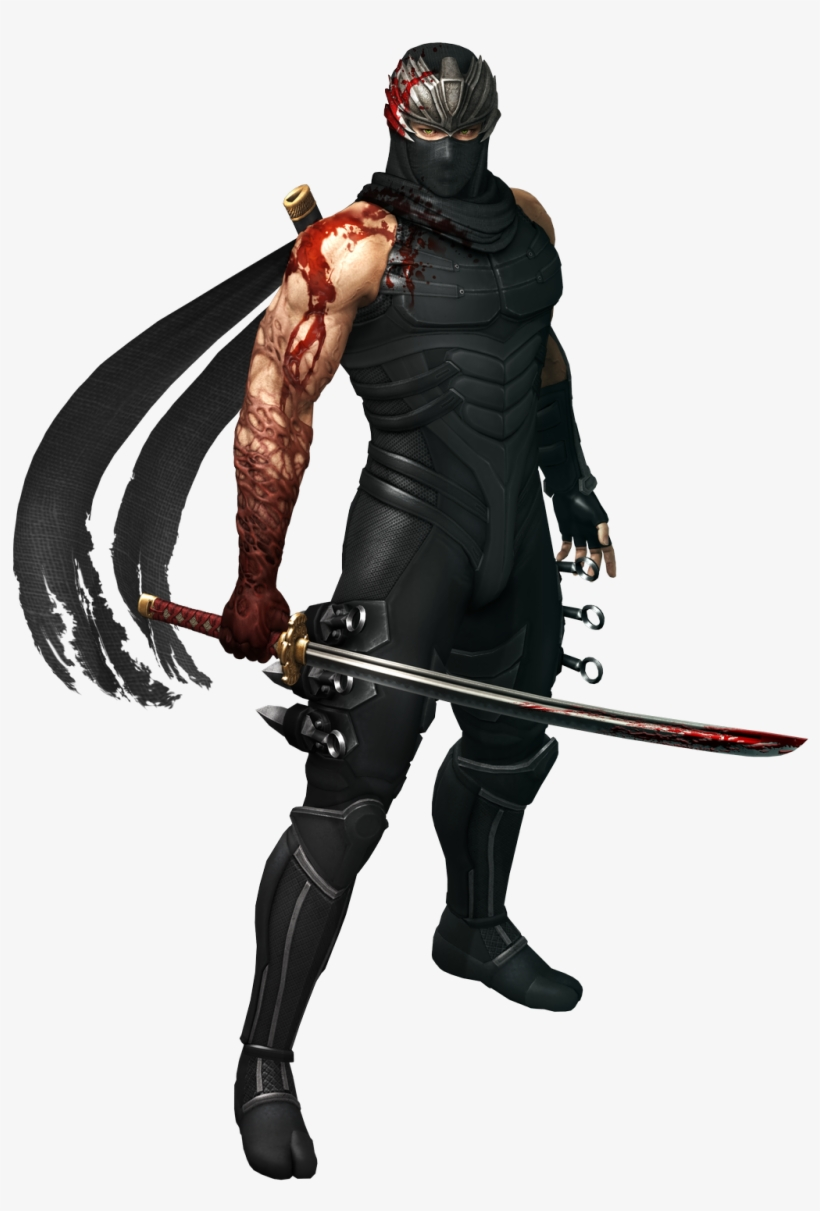 Ryu Hayabusa - Ninja Gaiden 3 Ryu Hayabusa, transparent png #5472417