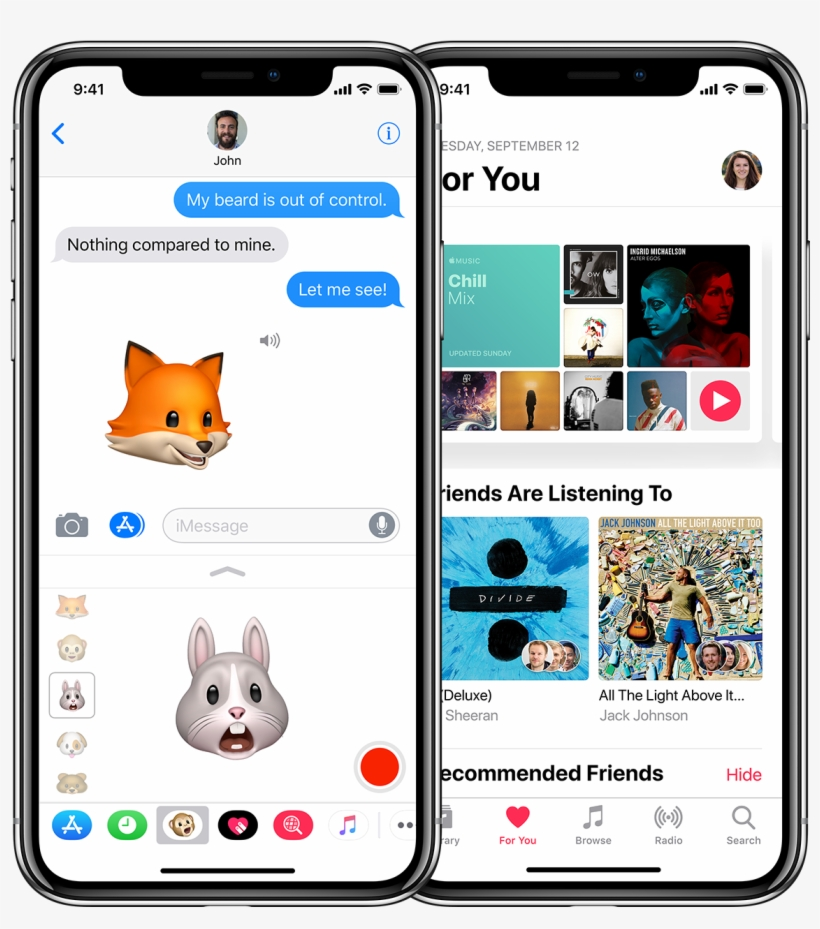 Send Animoji In Messages - Iphone X Price Philippines, transparent png #5472716