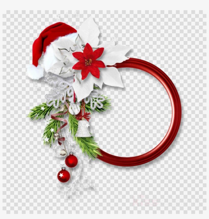 Png Christmas Border Clipart Santa Claus Borders And - Molduras De Natal Png, transparent png #5492100