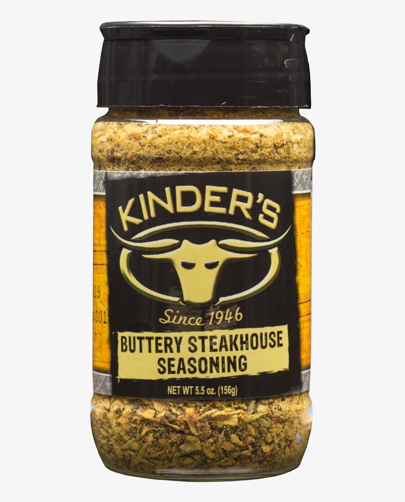 Kinder's Buttery Steakhouse Rub - Kinders Bbq Sauce, Organic, Sweet Sriracha - 20 Oz, transparent png #5497868