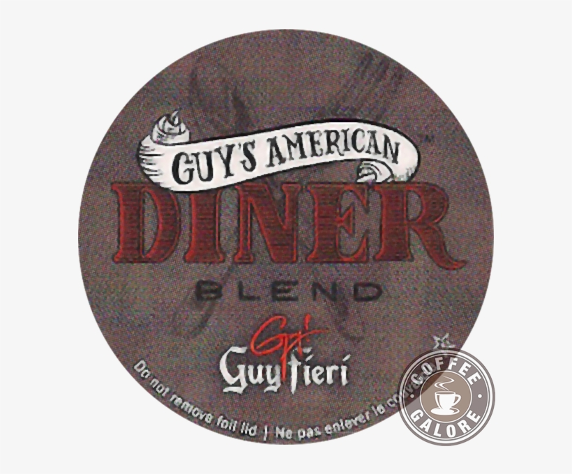 Guy Fieri American Diner Blend Kcup - Guy Fieri Guy Fieri Coffee For K-cupa, transparent png #5499067