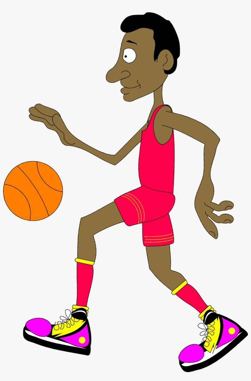 Free Stock Photo - Basketball Player Gif Cartoon, transparent png #551379
