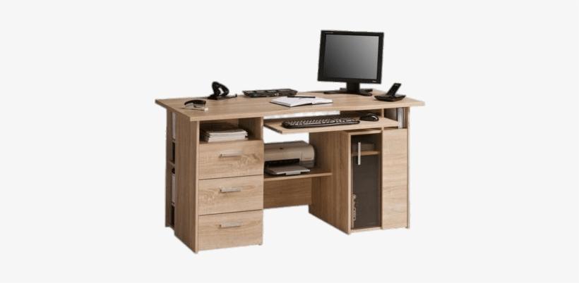 Computer Desk - Desk Transparent Background, transparent png #552036