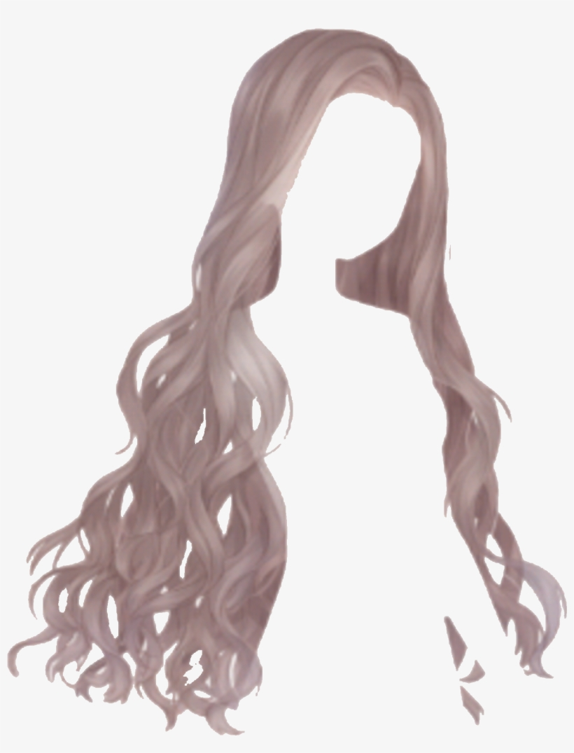 The Girl's Beautiful Hair Scatters Casually, Wavering - Love Nikki-dress Up Queen, transparent png #552331