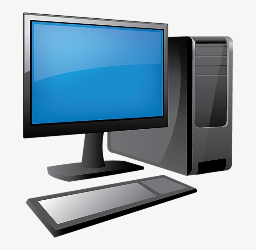 Free Desk Transparent Computer - Computer Transparent, transparent png #552726