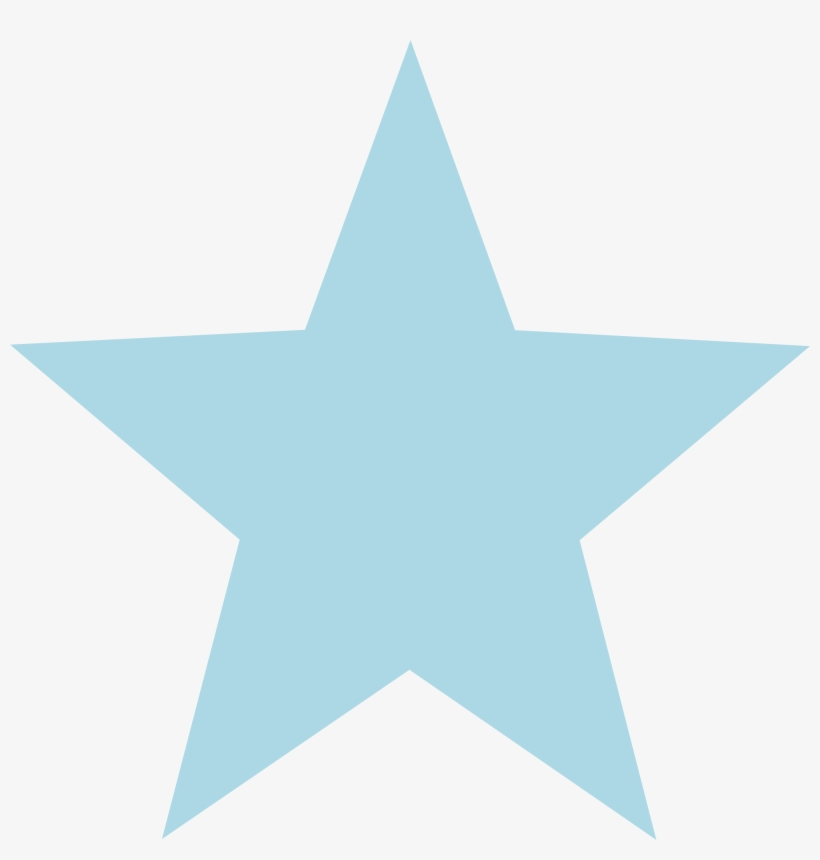28 Collection Of Light Blue Star Clipart - Light Blue Star Png, transparent png #553301