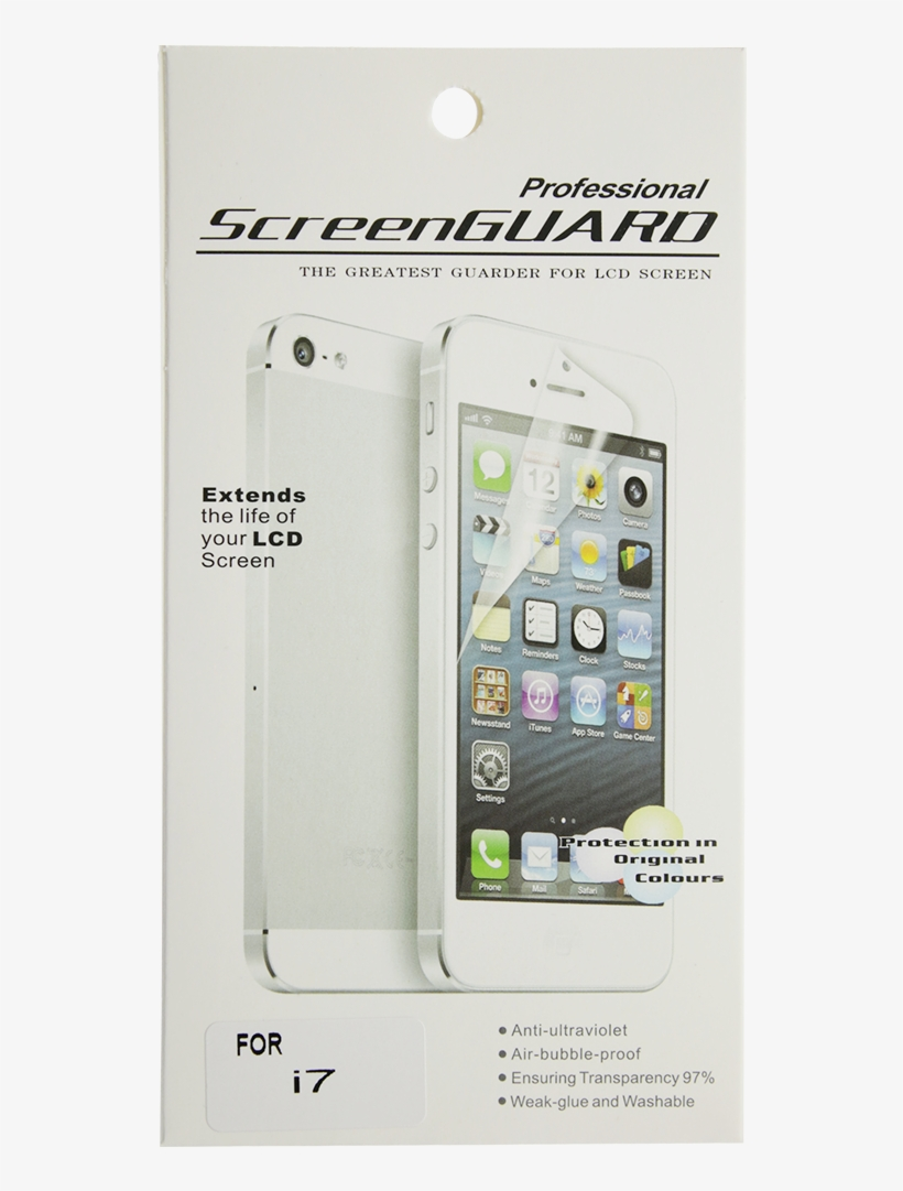 Iphone 8 Clear Screen Protector - Smart Phone I Phone, transparent png #553495