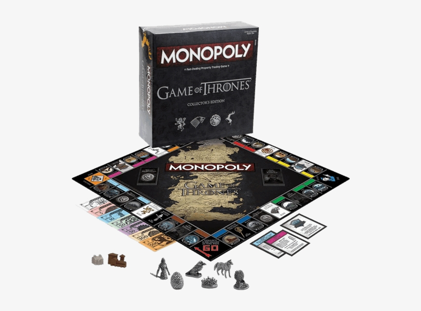 1 Of - Game Of Thrones Collector's Edition Monopoly, transparent png #554261