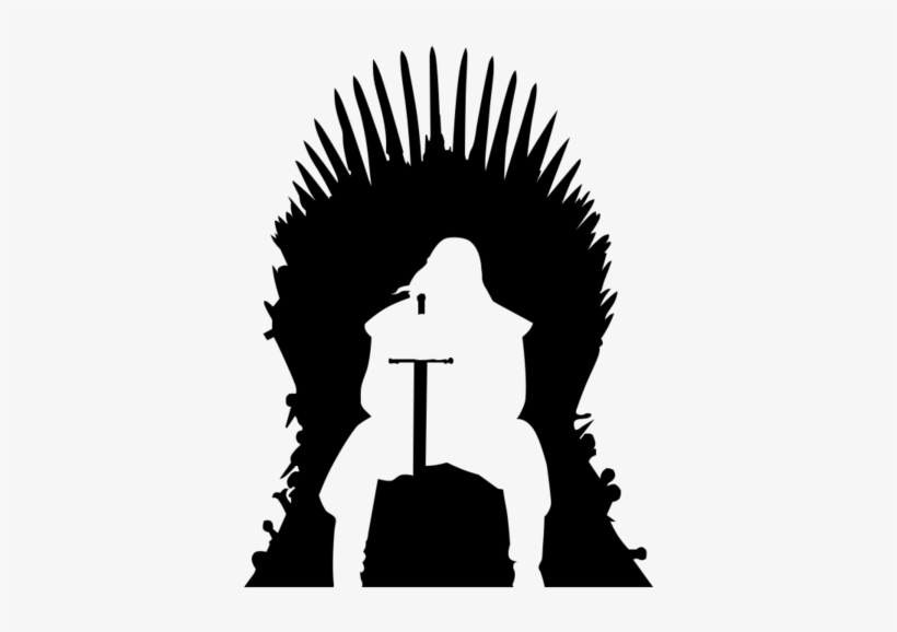 Vector Transparent Library Of Free Gallery Zalaces - Game Of Thrones Throne Silhouette, transparent png #554512