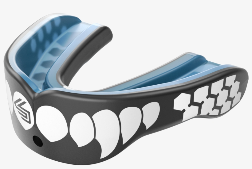 Shock Doctor Gel Max Power Mouth Guard - Shock Doctor Gel Max Power Convertible Mouthguard, transparent png #555121
