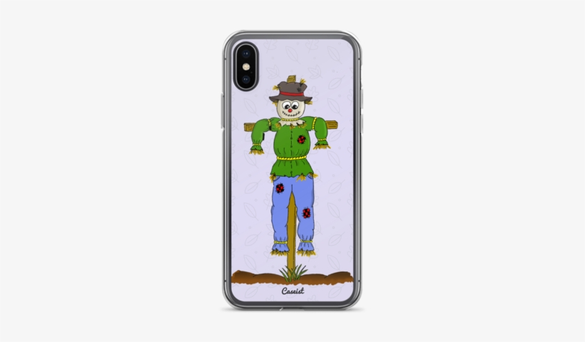 Silly Cartoon Scarecrow Iphone Case - Scarecrow Of Oz, transparent png #555728