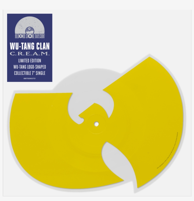 C - R - E - A - M - Die Cut Picture Disc - Wu Tang - Wu-tang, transparent png #556683