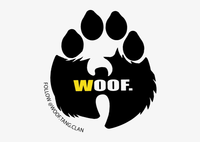 Hip Hop Group Wu Tang Clan Have Started A Trademark - Woof Tang Clan, transparent png #556744