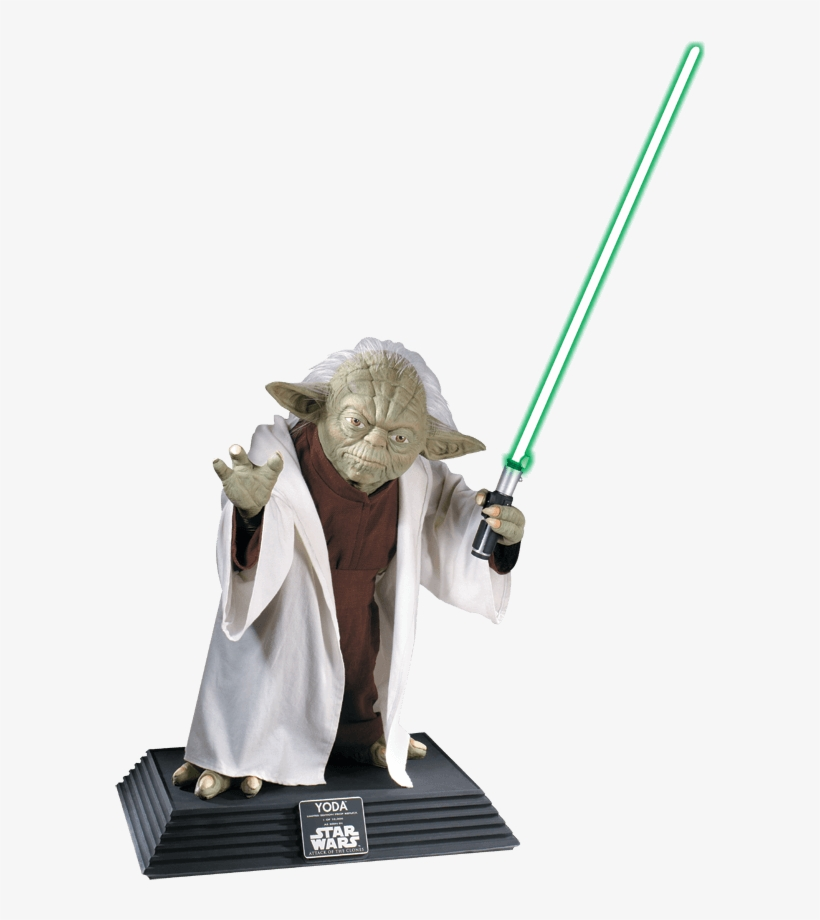 Collectors Edition Life Size Yoda Statue - Yoda Life-size Statue - Star Wars, transparent png #556796