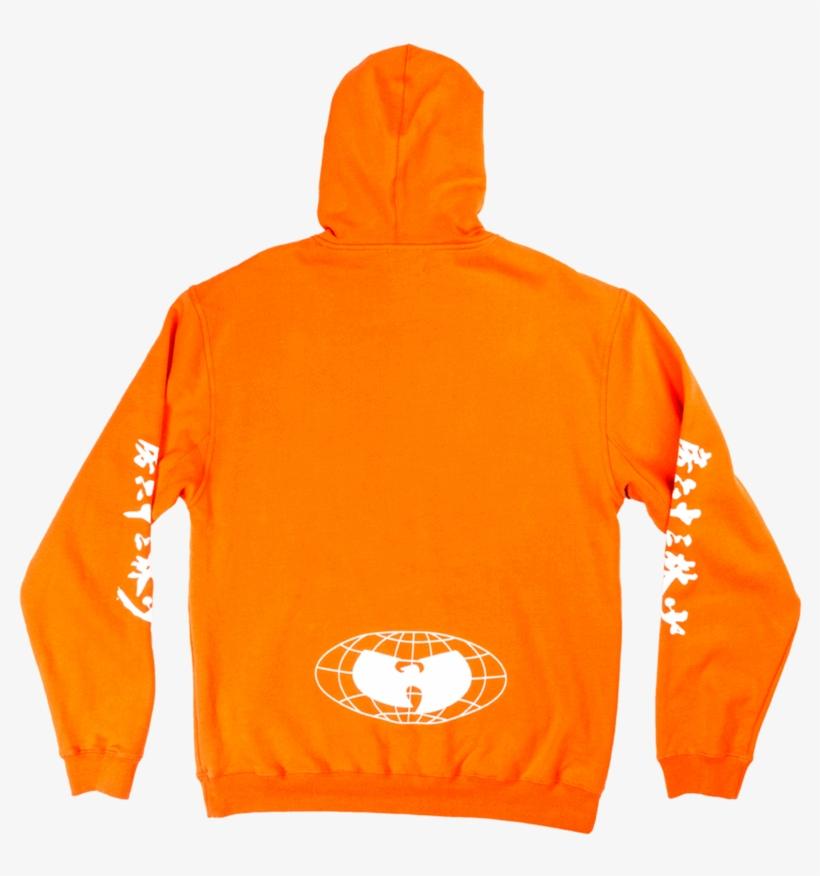 Wu-tang Hoodie - Orange - Wu Wear - Shaolin And Wu Tang, transparent png #557064