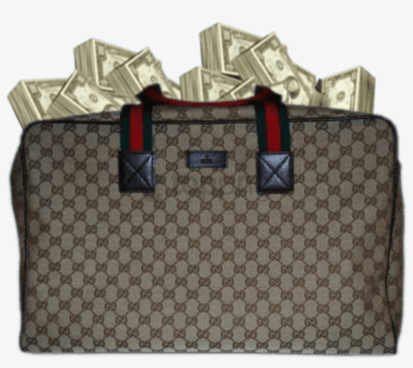 Gucci Bag Money Png - Gucci Bag With Money, transparent png #557094