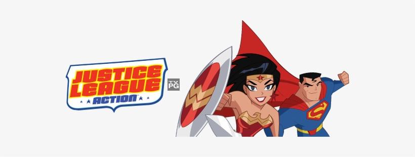 All Videosz - Justice League: Action - Season 1: Part 1 (dvd), transparent png #558869