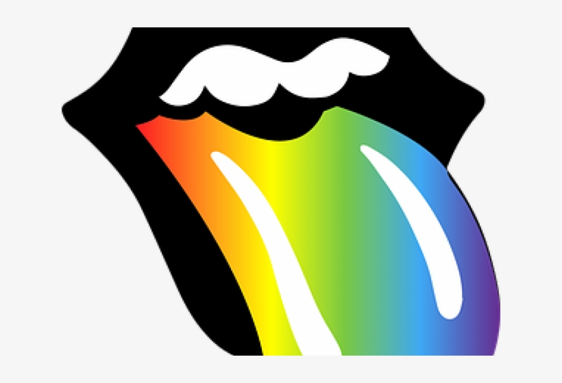 Lips rainbow. Clipart lgbt free transparent