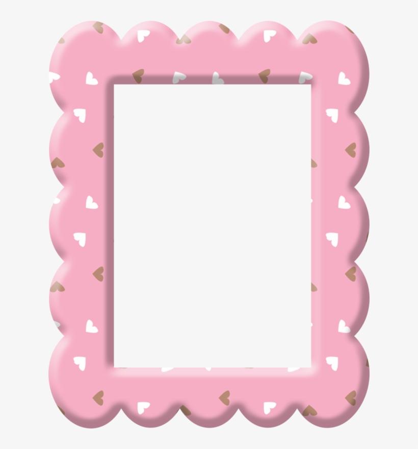 Pink Hearts * Ribbon Clipart, Baby Clip Art, Chocolate - Pink Hearts Pic Frames Png, transparent png #5505831