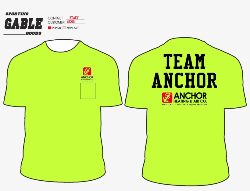 Check Out Our Team Anchor Moonlight Run T-shirts - Team Anchor, transparent png #5507064