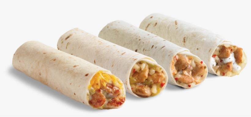 Vector Freeuse Del Taco - Del Taco Queso Chicken Roller, transparent png #5507690