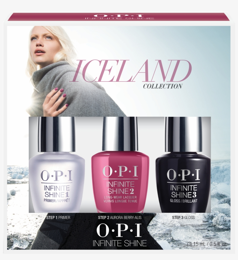 Opi Nail Polish Gift Sets Australia - Opi Infinite Shine Mini, transparent png #5516836