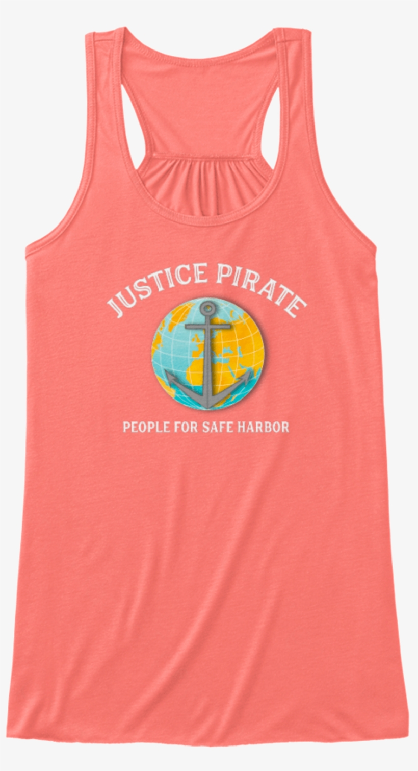 Justice Pirate People For Safe Harbor This Is A Fundraiser - Power Cycle Women's Tank Tops, transparent png #5520061