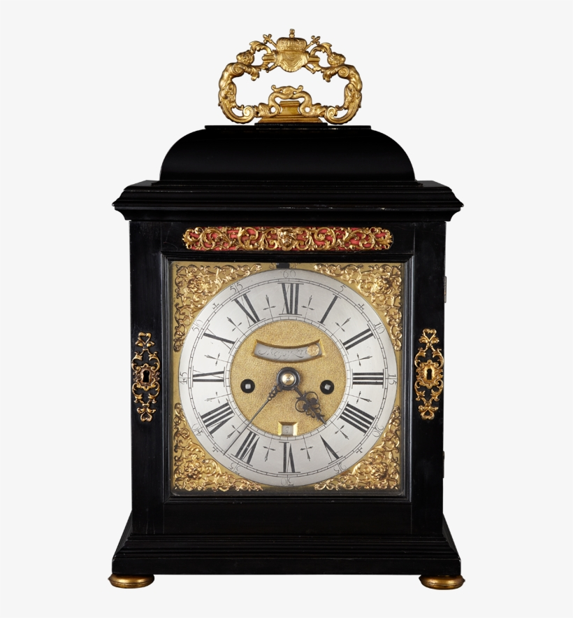 Mantle Clock, Mantel, Antique Clocks, 17th Century, - 17th Century Bracket Clocks, transparent png #5520548