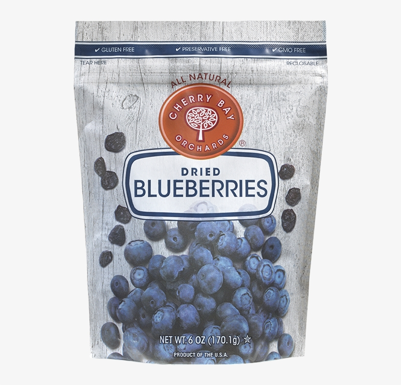 Cbo Blueberries 6oz Reto - Cherry Bay Orchards Dried Fruit Variety 6 Oz 12-count, transparent png #5530992