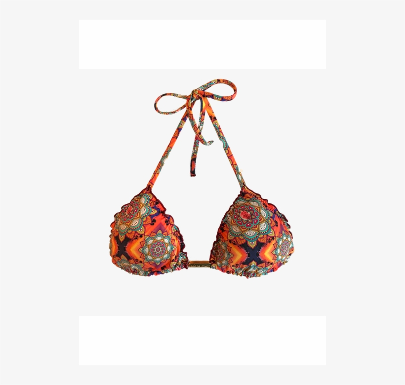 08c3206283cbe Top Cortininha Frufru Mandalas - Bikini - Free Transparent PNG ...