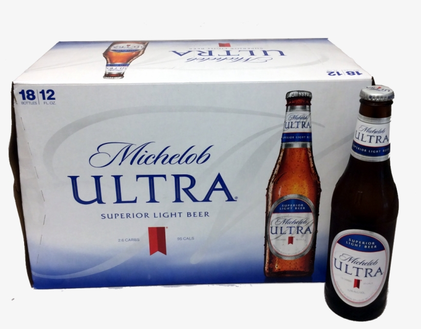 Michelob Ultra Png - Michelob Ultra Ligh Beer - 18 Pack, 12 Fl Oz Bottles, transparent png #5536890