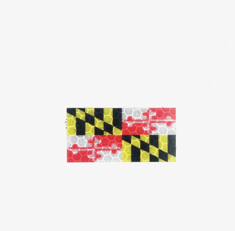 $0 - - Online Stores Maryland Flag 4 X 6 Inch, transparent png #5542715