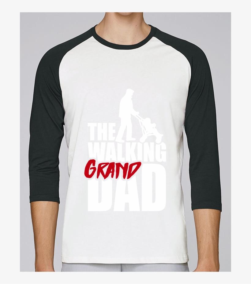 T-shirt Stanley Stella Baseball Col Rond Unisex Walking - T-shirt, transparent png #5546449