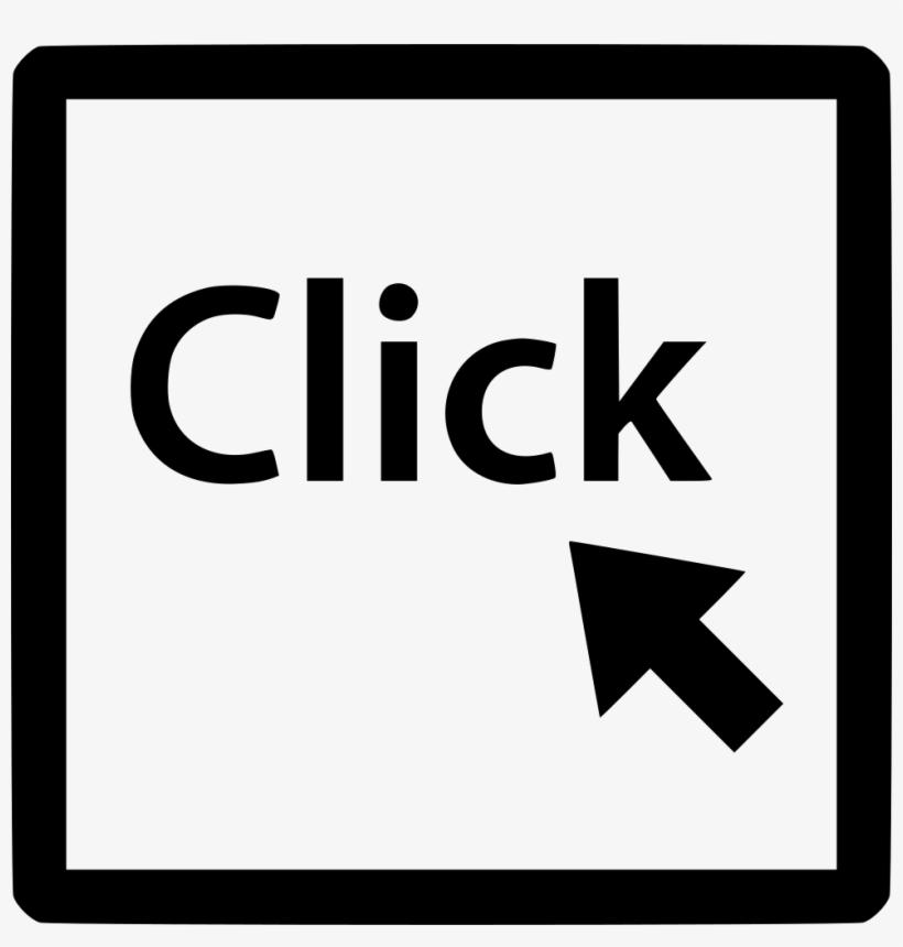 Arrow Click Mouse Track Point Pointer Online Comments - Click Software Logo, transparent png #5546831