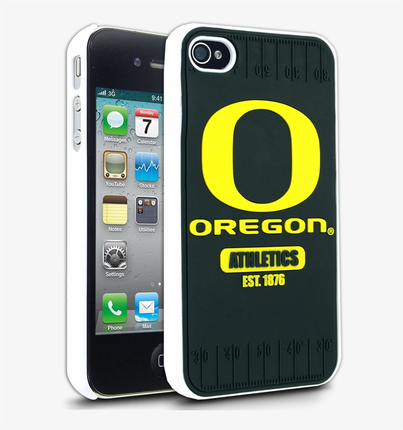 Oregon Ducks Iphone 4 Case For Apple Iphone 4 & 4s - Apple Iphone 4, transparent png #5547129