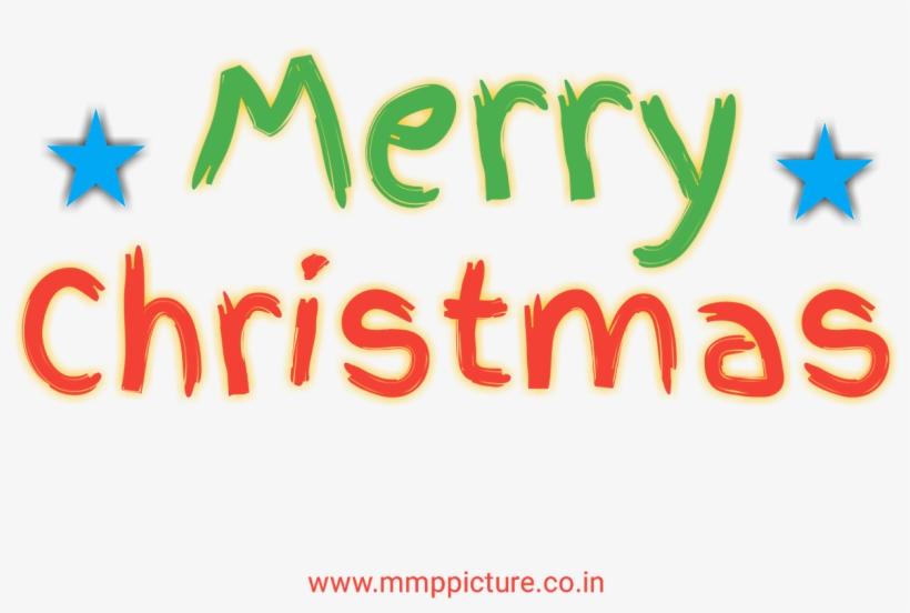 Transparent Christmas Text, Merry Christmas Text Png, - Christmas Day, transparent png #5554985